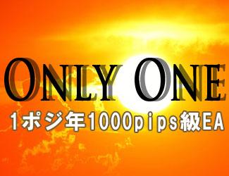 1ポジで年間1000pips級の「オンリーワン」