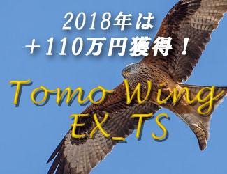 2018年度は+110万円の利益! 『Tomo_Wing_EX_TS』