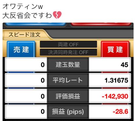7月16日(月)~7月25日(水)ドル円その他-約18.9pips~今年初のマイナス!?~