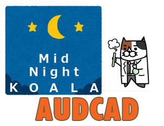 【速報】ねこ博士新作は「AUDCAD」の深夜取引EA!