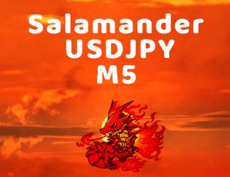 高勝率な24時間型スキャルピング『Salamander USDJPY M5』