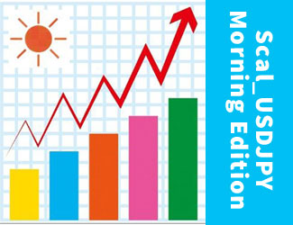『Scal_USDJPY Morning Edition』は取引回数と収益率が大幅にアップ!