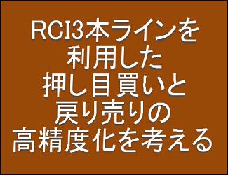 「RCI3本ライン+BODSOR」の有効性をEAを作成して検証(1)
