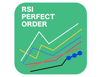 新しい発想!!RSIでパーフェクトオーダーが確認できるインジケーター!!RSIを元に平均移動線を作成した結果、興味深い点を発見!!