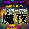 バイナリーインジケータ【魔夜Special】どんな相場でも自動最適化!常に高勝率を叩き出す!