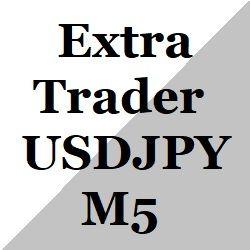 時間指定にエントリーするUSD/JPYのM5のスキャル。利益追求型。