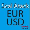 Scal Attack EURUSD ver.w-6 filter mode