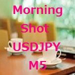 Morning Shot USDJPY M5