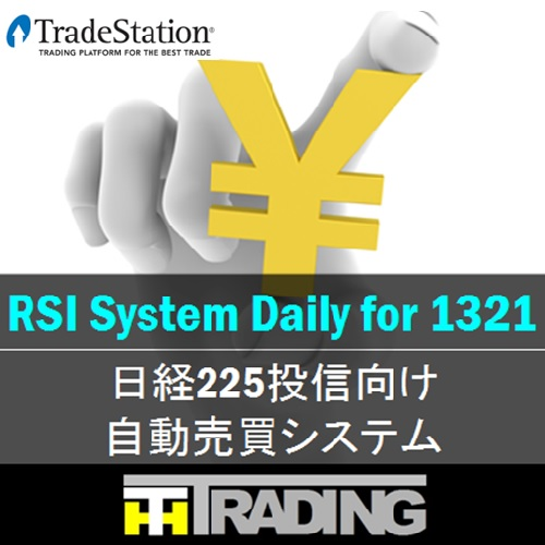 RSI System Daily for 1321