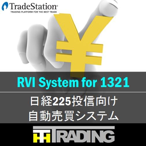 RVIによるトレンド判定システム