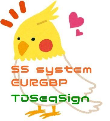 【年末年始セール】SS-system_EURGBPとTDSeqSignのセット販売