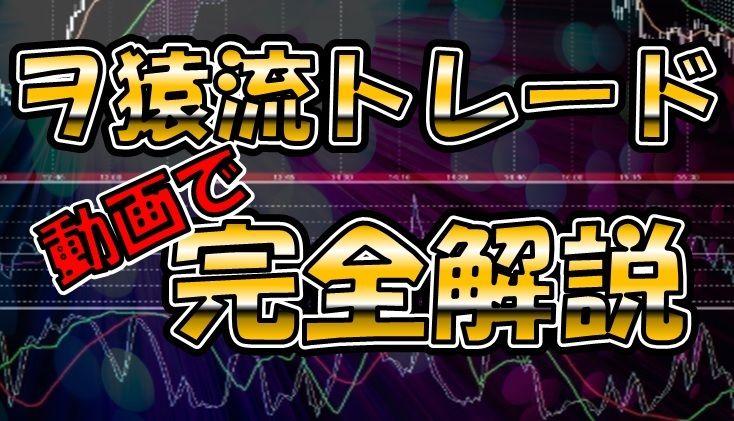 ヲ猿流FXトレード完全解説 【FX】