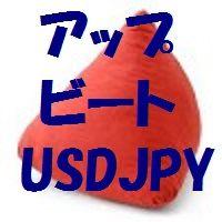 アップビート USDJPY