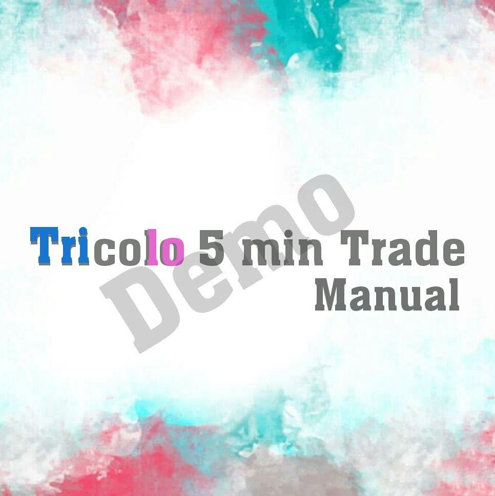 Tricolor 5 min Trade マニュアル(demo)