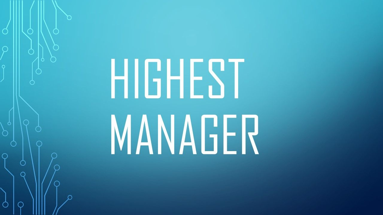 HighestManeger
