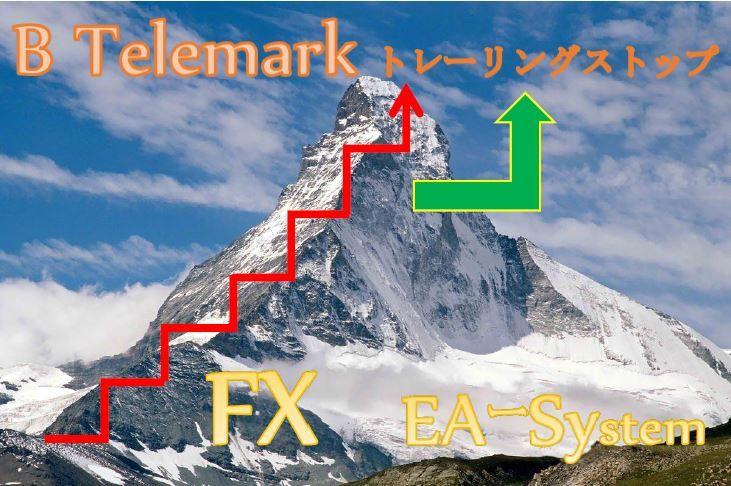 FX EAシステム B telemark トレーリングストップ。自動でエントリーポイントを捕らえ、最大限に利益を伸ばし、損失を最小限に抑えます。
