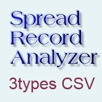Spread Record Analyzer (スプレッドレコードアナライザー)