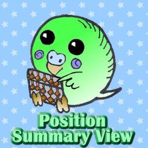 ポジション集計管理 MT4用インジケーター PositionSummaryView