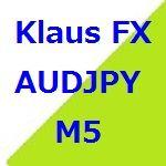 AUD/JPYのM5のデイトレ・スイングトレードです。