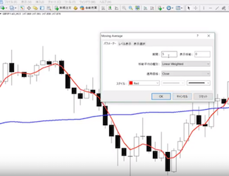 【FX動画】最新価格を素早く反映する特殊な移動平均線を売買のサインにする手法を平野朋之さんが解説