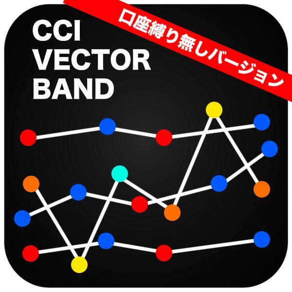 【口座縛り無しバージョン】CCIベクトルボリンジャーバンド!