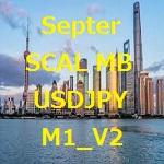 USD/JPYのM1のスキャルピングです。