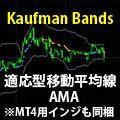 ForexTester2・3用インジケーター【Kaufman Bands】