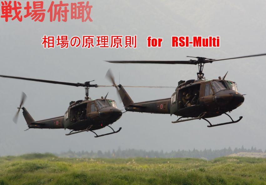 戦場俯瞰 RSI-Multi