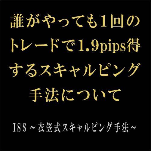 ISS~衣笠式スキャルピング手法~