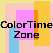 Color time zones