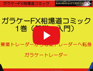 【動画】迷えるFX初心者の最初の勉強方法をガラケートレーダーさんに教えてもらった