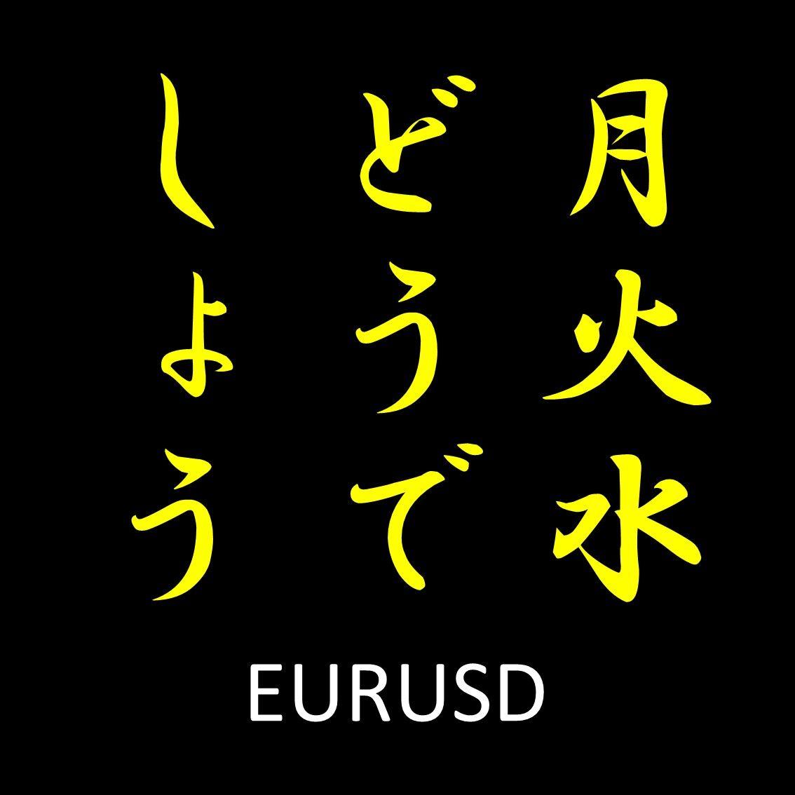 月火水どうでしょう ~EURUSD~ ナンピン無し ワンショットで高勝率デイトレ