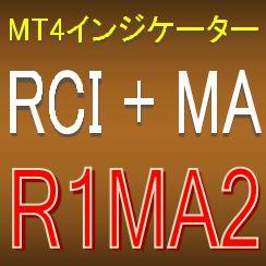 RCIを使った押し目買い・戻り売りを強力サポートする矢印インジケーター【R1MA2】
