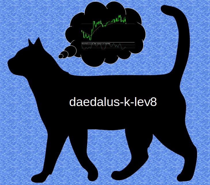 エンベロープ逆張りEA daedalus-k-lev8はエンベロープ8セットを使用した自由度の高いパラメータ設定により、様々な通貨、時間足に対応可能。