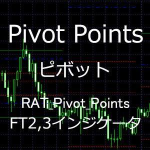 RAT_Pivot_Points (Pivot Points)インジケータ 【ForexTester2,3用】