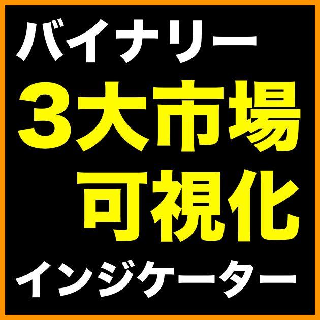 バイナリーオプション無料インジケーター「TM_3colors(3大市場色分け)」