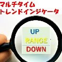 マルチタイム(4つの時間帯)高値・安値切り上げ/切り下げバー表示インジケータ(無料版)