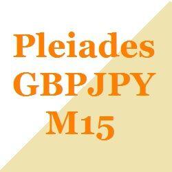 GBP/JPYのM15のデイトレ・スイングです