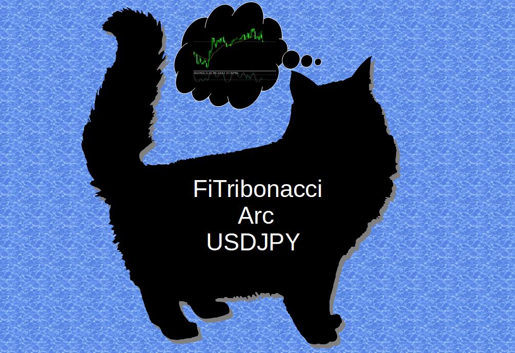 フィボナッチアークに①フィボナッチ比率②トリボナッチ比率を適用させたアークラインを基に的確なエントリーを行い、着実に利益を積み上げていきます。