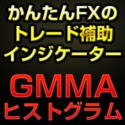 かんたんFXのGMMAヒストグラム
