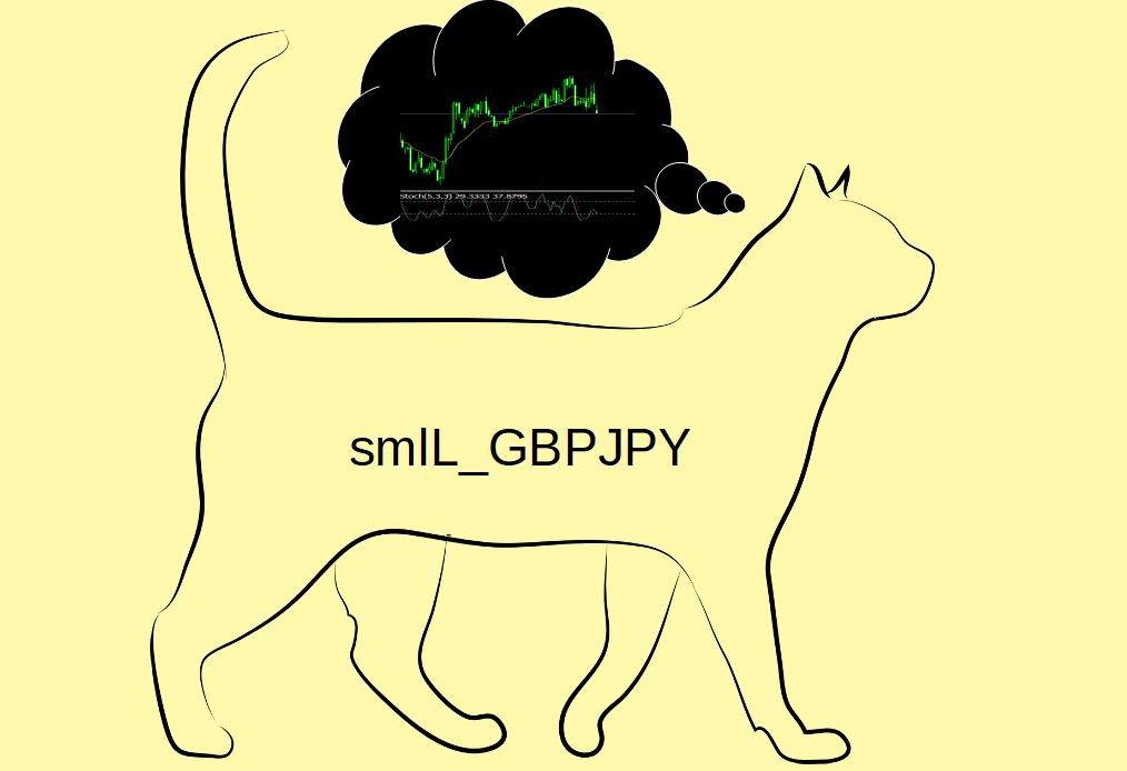 smlL_GBPJPYは価格の押し戻しポイントを適格に狙ったエントリーで利益を積み重ねていきます!