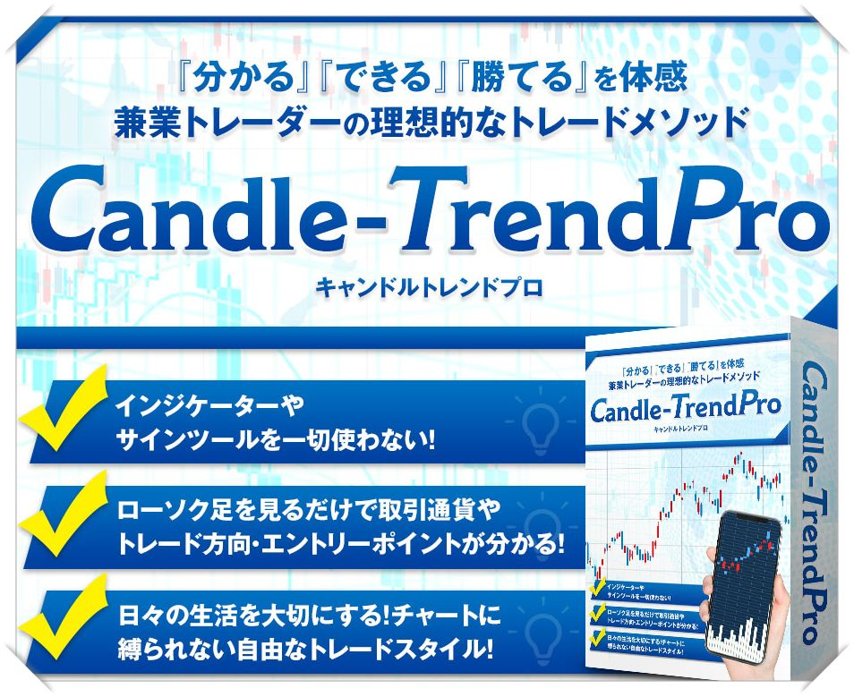 『Candle-Trend PRO』ついに公開!