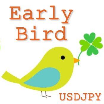早起きは三文の徳。早朝稼働の高頻度、低ドローダウンEA