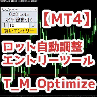 【MT4】ロット自動調整エントリーツール