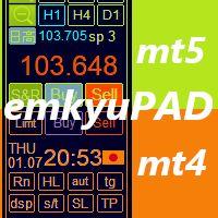 スキャルピング・デイトレード支援ユーティリティー,MT4・MT5用のセットです。