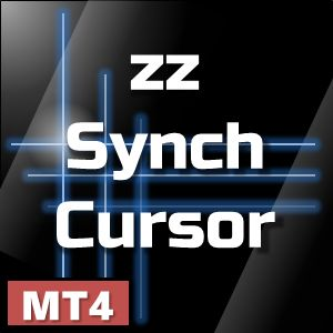 【zz_SynchCursor Ver 1.12】複数チャートで十字カーソルを同期表示。全チャートを十字カーソル位置に瞬間ジャンプ。ライン同期機能付き。MT4カスタムインジケーター。