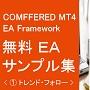 MT4EA無料ソース・サンプル集(1) トレンド・フォロー/移動平均交差など14種