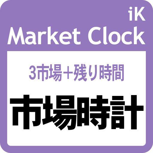 3つの市場の現在時刻と チャートの新足までの残り時間を表示します。市場は13の都市等の中から選択できます。