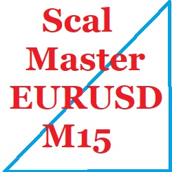EUR/USDのM15のスキャルピングです。