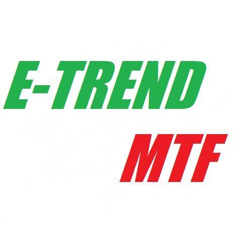 上位時間のトレンド方向を明確に表示!!MTF分析で勝率UP!!タイムフレーム別で5つのインジが入っています。